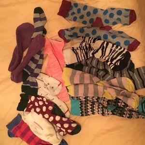Lots of socks! 12 pairs
